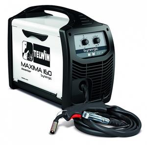 Инверторный сварочный аппарат TELWIN MAXIMA 160 SYNERGIC 230V