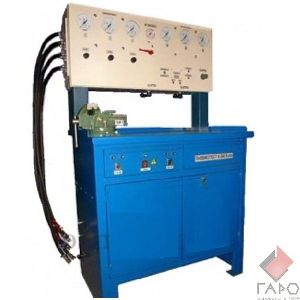 Стенд для испытания и разборки сборки головок блоков цилиндров двигателей СПГ-238.00